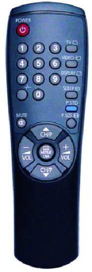 High Quality Remote Control for TV (00198D)