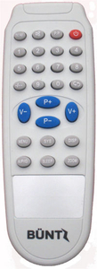 High Quality TV Remote Control (BUNT)