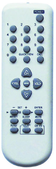 High Quality Remote Control for TV (076NODW100)