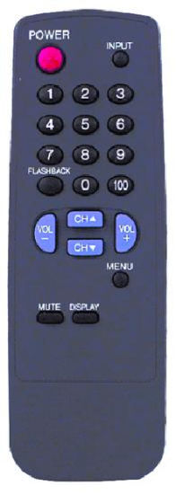 TV Remote Control with ABS Case (G1324SA)