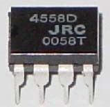 Stock IC for PCB (4558D)