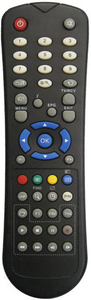 ABS Case Remote Control for TV (AMIKOS)